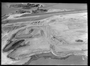 Mangere, Auckland, including Wilson Portland Cement works