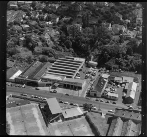 Factories, business premises, including Tappenden Motors and Ridge Tyre Remoulding, Auckland