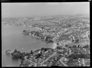 Torbay, East Coast Bays, Auckland, showing the tor