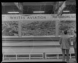 An exhibition by the Auckland Star and Whites Aviation at the Easter Show