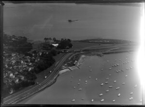 St Mary's Bay and the Waitemata Harbour, Auckland