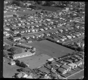 School and housing scenes in Auckland