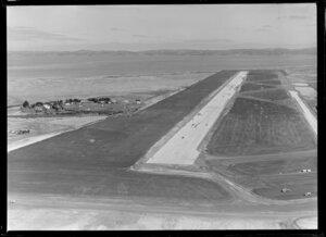 Mangere Aerodrome under construction, Manukau, Auckland