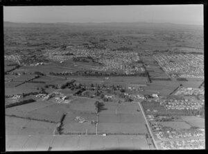 Hamilton East with Ruakura and site for future University of Waikato