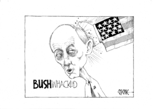 'BUSHwhacked'. 13 August, 2008