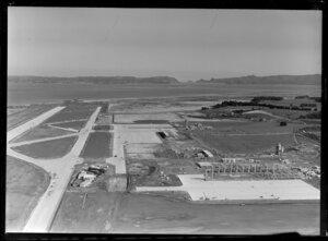 Auckland International Airport, Mangere, terminal construction