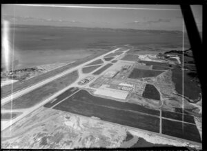 Auckland airport under construction, Mangere