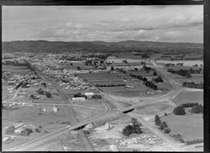 Great South Road, Southern Motorway, subdivision development, Takanini, Auckland