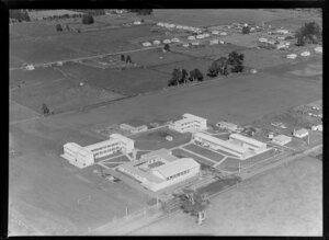 Ngaruawahia High School and playing field, Ngaruawahia