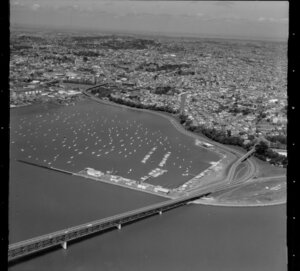 St Mary's Bay and Westhaven marina, Auckland