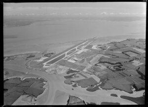Auckland International Airport, Mangere, under construction