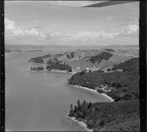 Days Bay and Cowes Bay, Waiheke Island, Hauraki Gulf, Auckland Region