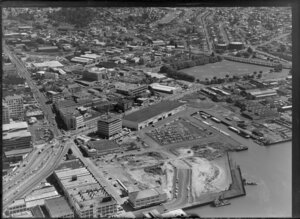 Waterfront industrial area, Auckland