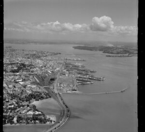 Parnell including Hobson Bay, Auckland