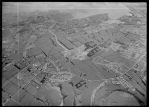 Mangere, Manukau City, Auckland, featuring housing site