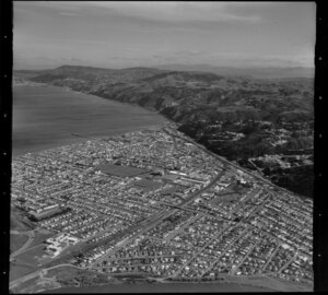 Petone and the Hutt River, Lower Hutt