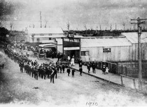 Parade on Main Street, Kaponga