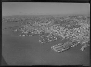 Auckland City and Wharf