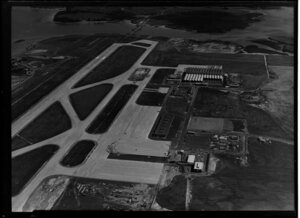 Auckland International Airport, Mangere, development
