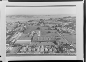 Copy of a photograph of Holeproof Mills, Mt Roskill, Auckland