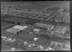 Mt Wellington, Auckland, including CL Innes & Company Ltd soft-drink factory The Oasis, and surrounding area