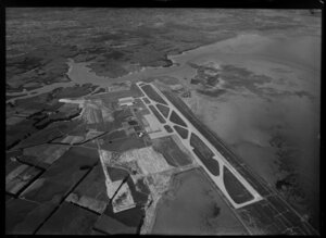 Site works for Auckland Airport at Mangere