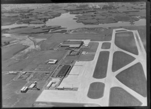 Auckland Airport, Mangere, for Wilsons (NZ) Portland Cement Ltd