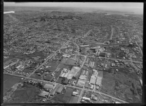 Onehunga, includes Te Papapa industrial centre, Auckland