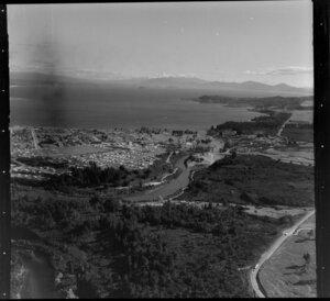 Taupo, Waikato River and Lake Taupo