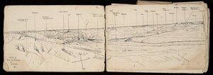 [McFarlane, Francis Ledingham], 1888-1948 :Sketch of Wadi el Guzze at Shelal (2) [1917?]