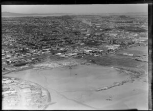 Onehunga reclamation, Auckland