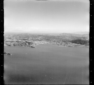 Wellington, including Lambton Harbour and city