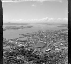 Auckland waterfront, including Saint Marys Bay