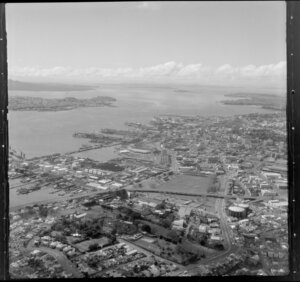 Saint Marys Bay and Auckland waterfront