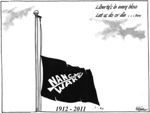Hubbard, James, 1949- :Nancy Wake, 1912-2011. 8 August 2011