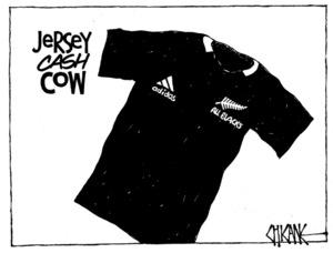 Winter, Mark 1958- :Jersey cash cow. 11 August 2011