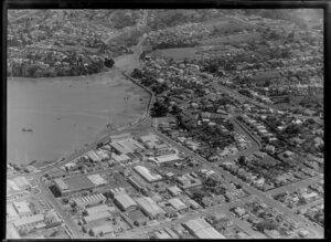 Property of Mr R Blenkin and surrounding area, Onehunga, Auckland