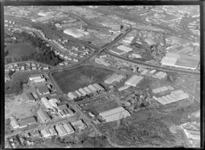 Industrial area, Penrose, Auckland
