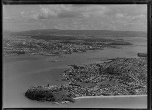 Devonport and harbour, Auckland