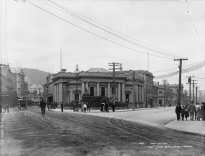 View of Lambton Quay and Featherston Street, Wellington