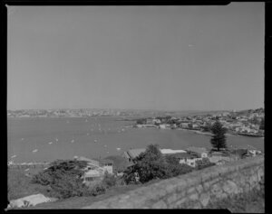 Looking toward Auckland from North Head