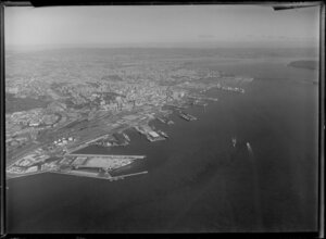Auckland Container Wharf, Waitemata Harbour