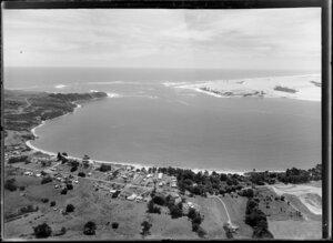 Omapere, Hokianga Harbour mouth and bar