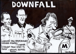 Scott, Thomas, 1947- :Downfall. Dominion Post, 20 June 2005.