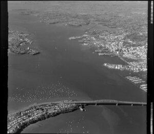Auckland City, North Shore and Waitemata Harbour, including Auckland Harbour Bridge