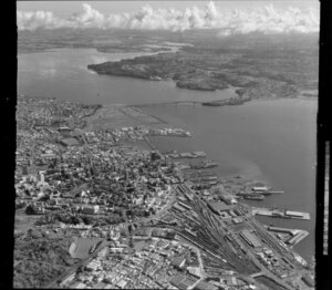 Auckland City, North Shore and Waitemata Harbour, including Auckland Harbour Bridge