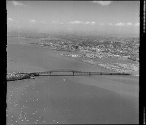 Waitemata Harbour and Auckland Harbour Bridge