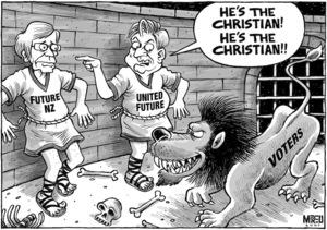 """""""He's the Christian! He's the Christian!!"""" 4 September, 2007"""