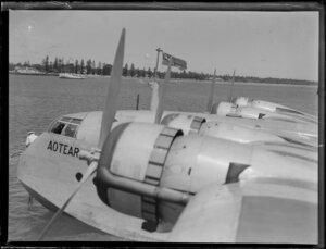 Short S-30 Empire flying boat ZKAMA RMA, Aotearoa, Tonga