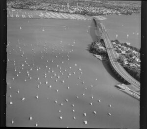 Northern approaches to Auckland Harbour Bridge
